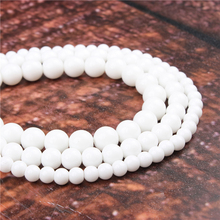 Fashion Shiraishi Round Beads Loose Jewelry Stone 4/6/8/10 / 12mm Suitable For Making Jewelry DIY Bracelet Necklace