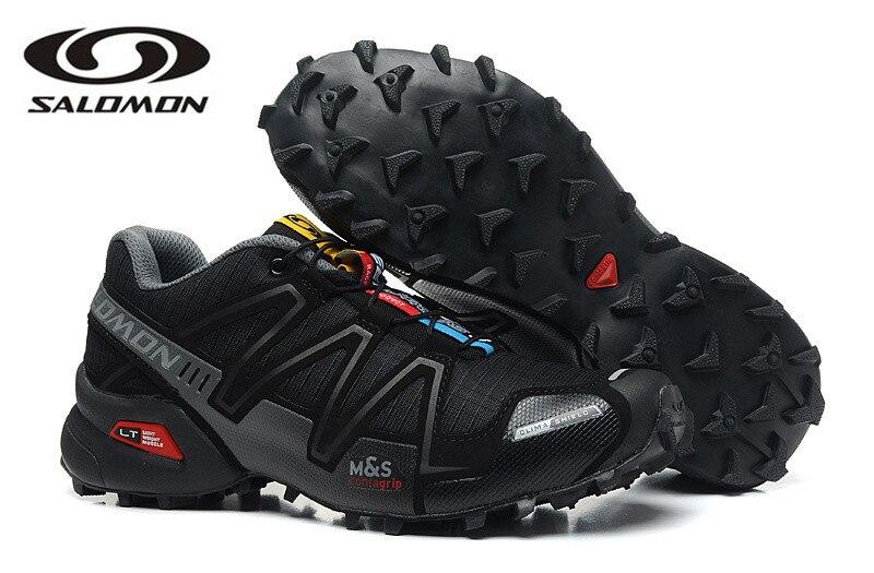 Salomon Speed Cross 3  Outdoor Men Sport Sneakers Comfortable Male Jogging Shoes  Fencing Shoes