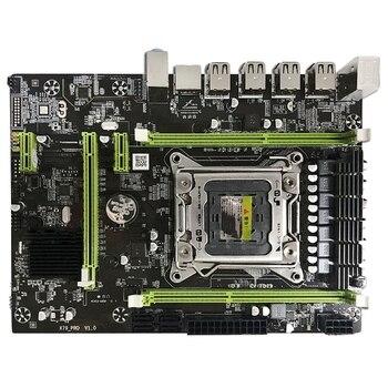 X79M Pro Motherboard For Intel Lga 2011 E5 2640 2650 2660 2680 Ddr3 1333/1600/1866Mhz 32Gb M.2 Pci-E M-Atx Mainboard