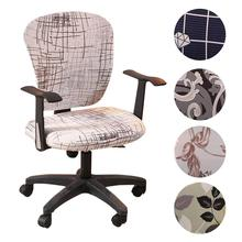 Spandex Office Computer Chair Cover Stretchable Rotate Swivel Covers