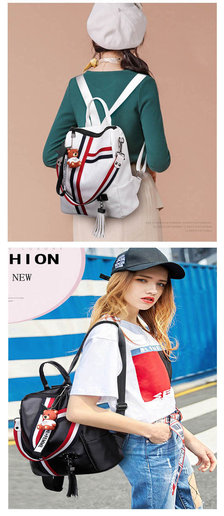 H1368ebdf2ee54f7b8da5c4e6e08289e0R bags for women 2019 new retro fashion zipper ladies backpack PU Leather high quality school bag shoulder bag for youth bags