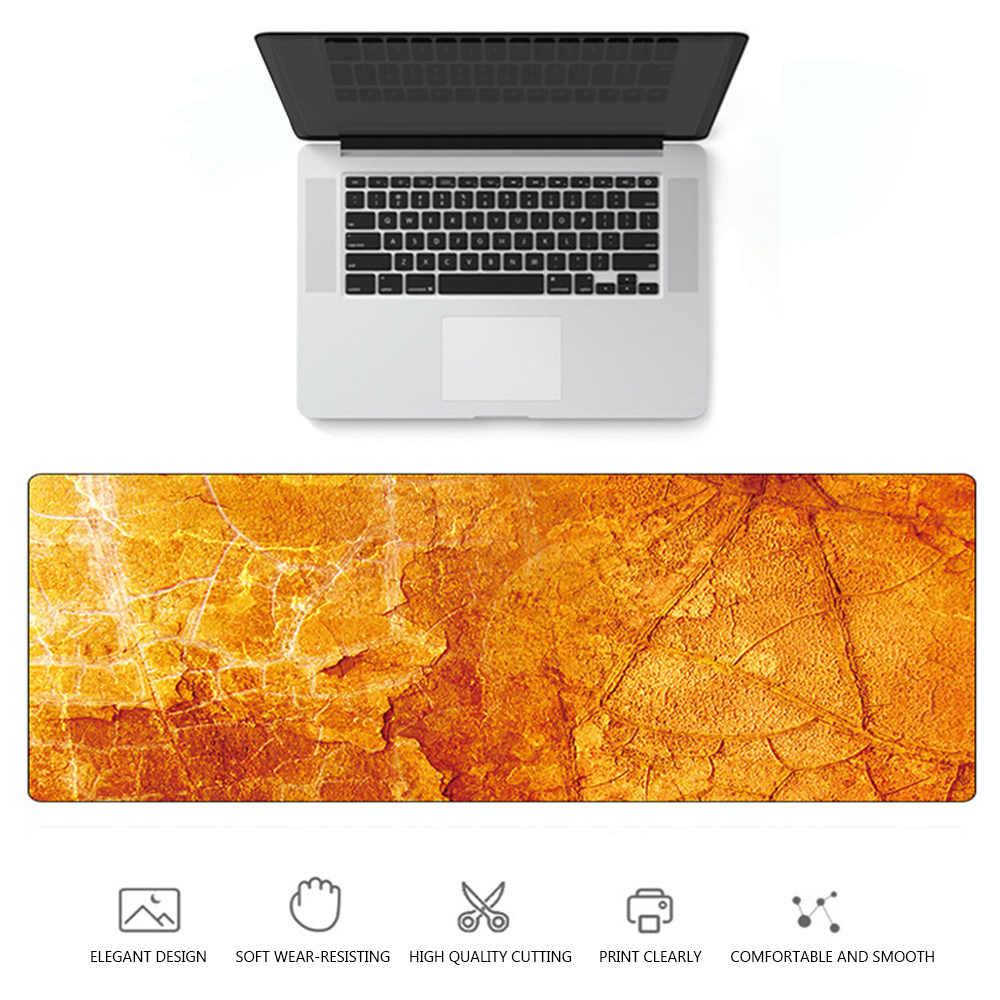 1PC 最高品質の大大理石粒ソフトマウスパッドオフィスコンピュータデスクマット現代のテーブルゲームキーボード Laptop クッションアクセサリー