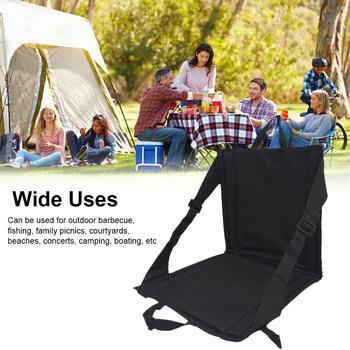Oxford tkaniny składany stołek Camping krzesła wędkarskie wodoodporne stabilne krzesła wędkarskie lekkie krzesła wędkarskie poduszki Kamp tanie i dobre opinie Folding Fishing Chair