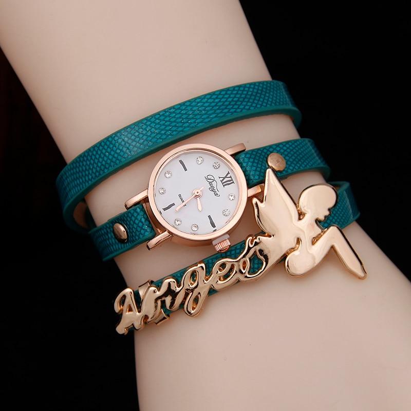 2020 Hot Selling Luxury Band Fashion Leather Bracelet Wrist Watch Women Reloj Relojes Mujer Ladies Quartz Watches Clock Horloge