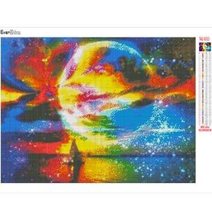 Image 3 - Evershine מלא כיכר יהלום ציור שטח 5D DIY פסיפס יהלומי רקמת נוף צלב תפר ערכת בית תפאורה