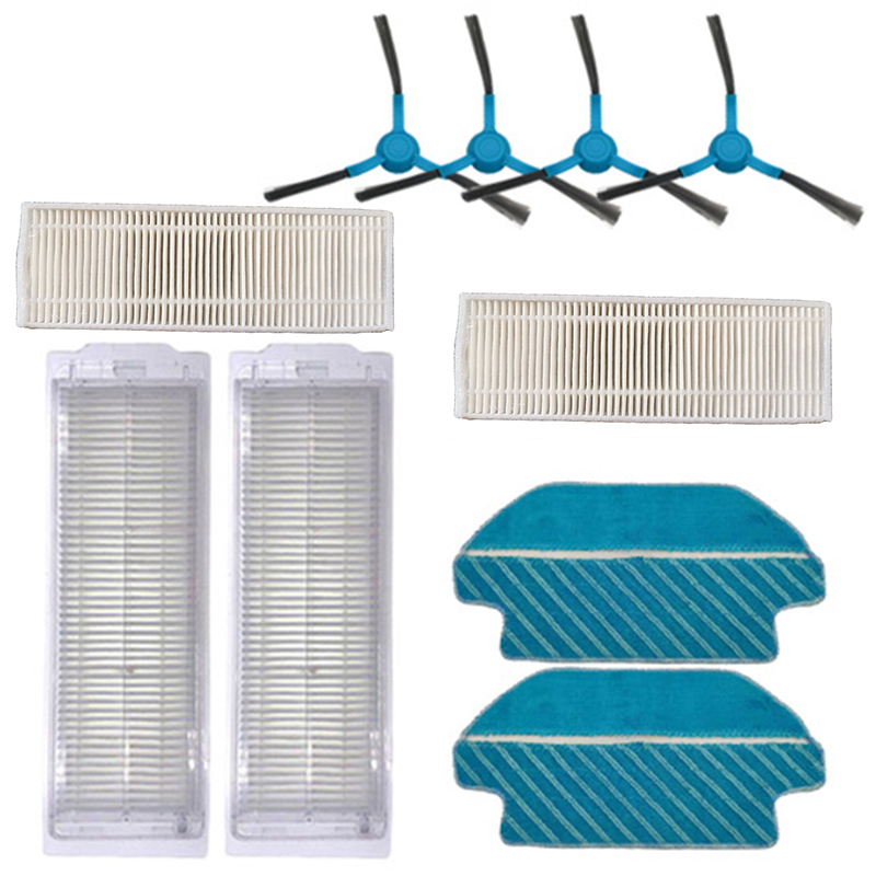 Filter Side Roller Brush Mop Cloth Kit For Viomi V2 V-RVCLM21B Vacuum Cleaner High Quality Tool Parts Accessories