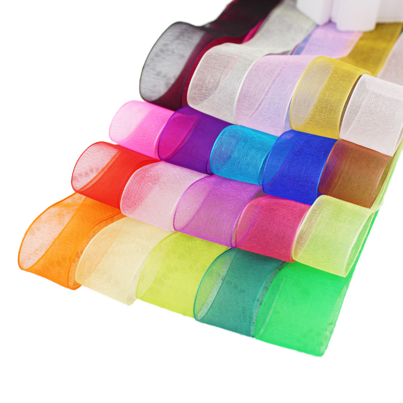 "New 5 10 20 Yards 50mm 2/"" Satin Ribbon Multi-Purposes Wedding Party 20 Colors"