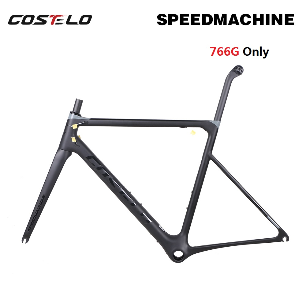 766g Only Costelo Speedmachine Ultra Light Carbon Road Bike Frame Costelo Bicycle Bicicleta Frame Carbon Fiber Bicycle Frame