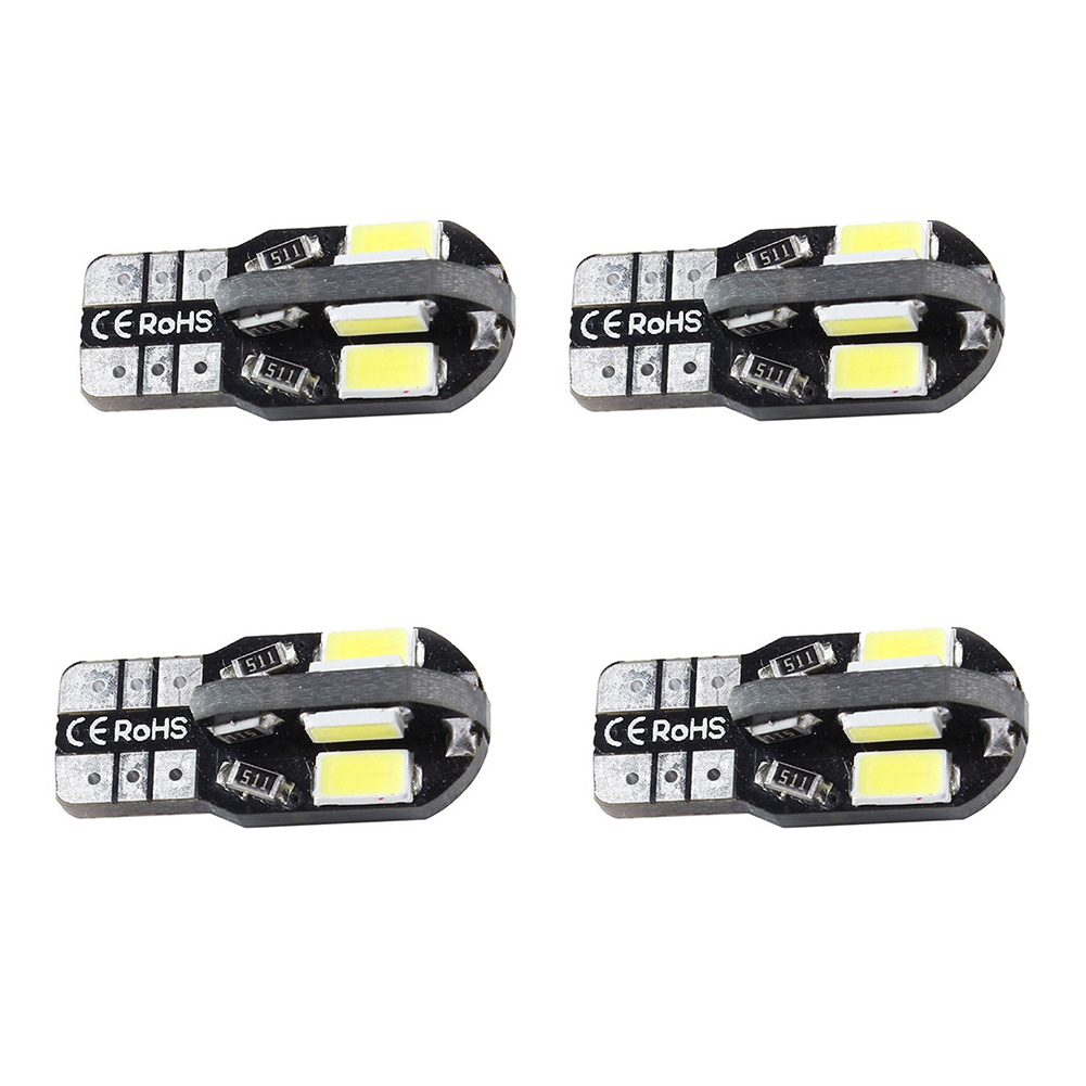 Wholesale 4pcs/Lot Canbus  8smd 5630 5730 LED Car Light Canbus NO OBC ERROR W5W 194 SMD Led Bulb