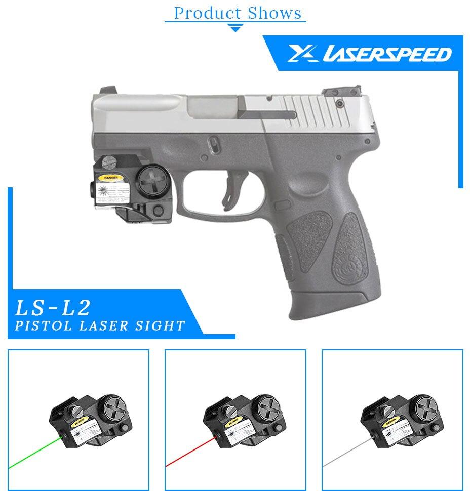 Arma compacta ponteiro laser para walther p22