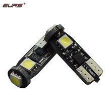 T10 led w5w luz do carro canbus erro lâmpadas 3030 194 168 placa de licença luz cunha lâmpada turno sinal luz luzes apuramento 12v