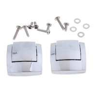 Motorcycle Tour Pak Hinges Latch kit For Harley Touring Classic Electra Glide 1980 2013