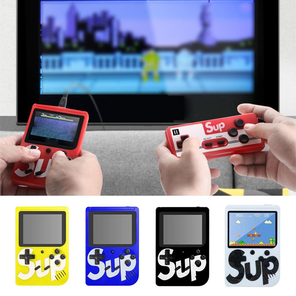 Retro Handheld Game Console Mini FC Nostalgia 400 In One Game Console Recyclable Charging ACT Action Game