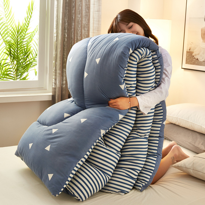 Blanket Winter Duvet Insert Winter Thick Warm Dormitory Single Person Students Double Air Conditioner Spring, Autumn And Winter