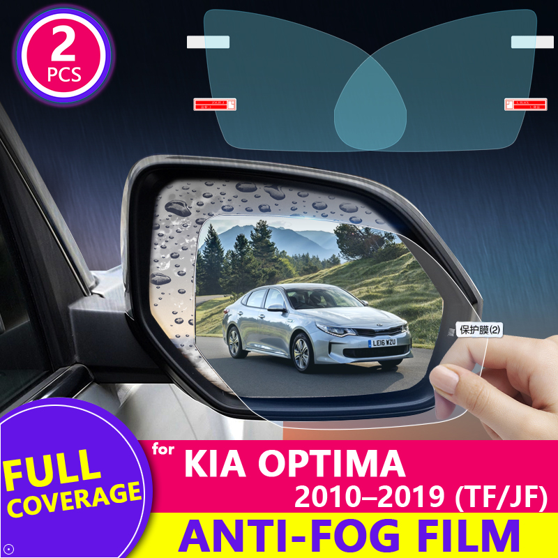 Full Cover Rearview Mirror Anti Fog Film for KIA Optima TF JF 2010~2019 K5 Protective Rainproof Films Accessories 2011 2017 2018 image
