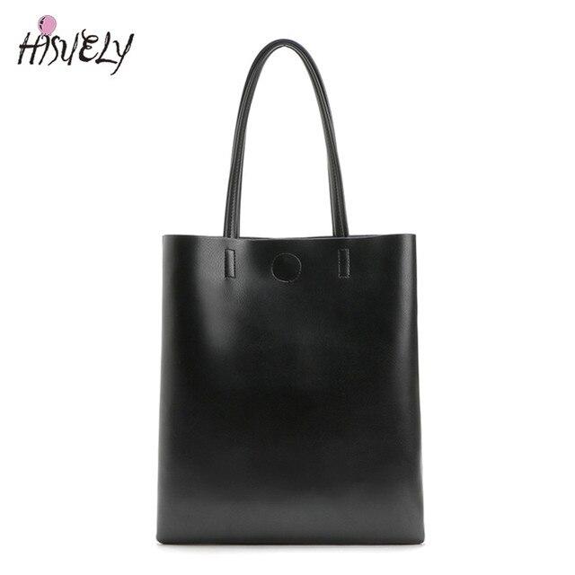 2020新ファッション女性革ハンドバッグショルダーバッグ黒大容量の高級トートバッグデザイン因果バケット高品質