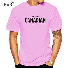 Molson Canadian t shirt for discount Sports & Outdoors t shirt for sale Anime summer shirt Cool Bottoming shirt Unisex(China)