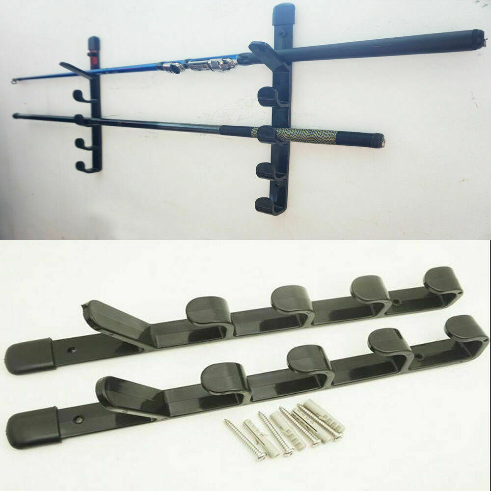 2pcs/lot 5Section Pole Roost seatbox clearance Support Fishing Rod - Wall Brackets Holder
