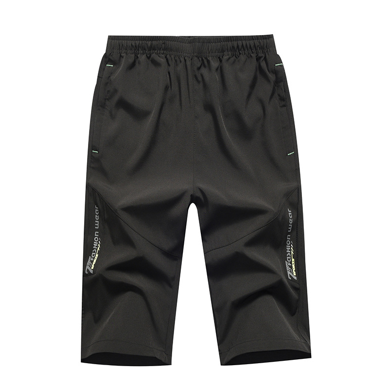 Men's Shorts Casual Cotton Street Wear Solid Knee Length Men's Shorts Bermuda Beach Male Shorts Homer  2019 Summer