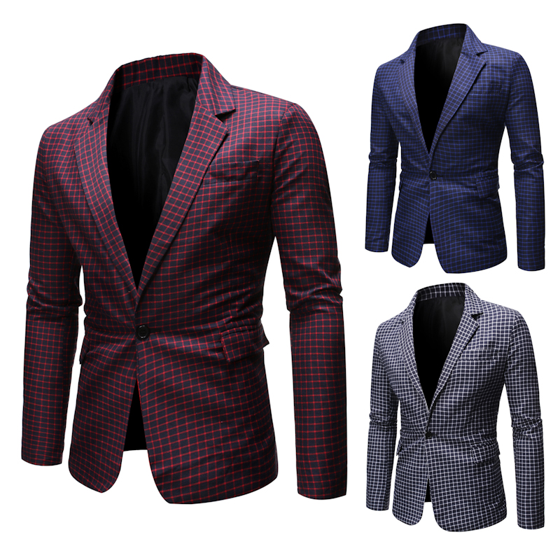 Casual For Men Coat Blazer Slim Fit Prom Dresses 2020 Plus Size Wedding Dress Designer Jacket Ropa De Hombre Men Clothes Stripe