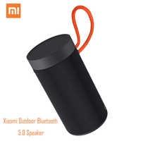 Xiao mi mi esterna Bluetooth 5.0 Speaker Dual-mi c 8 ore tempo di Gioco IP55 impermeabile Riduzione DEL Rumore XMYX02JY 360 ° Surround Sound