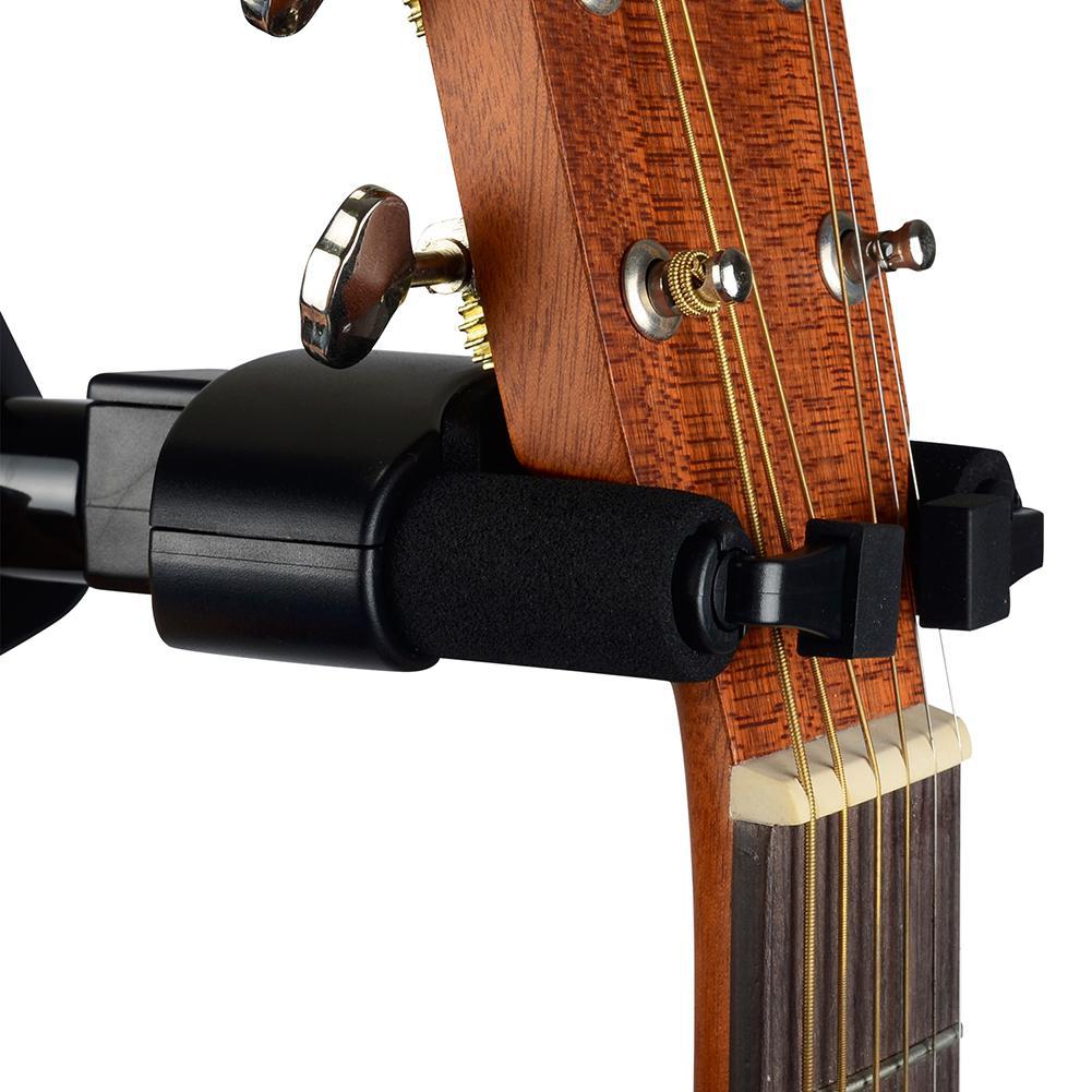Guitarra gancho gancho suporte de montagem na parede para guitarra elétrica acústica clássica baixo ukulele banjo violino mandolin-2