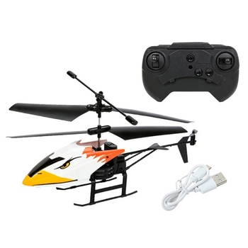 2 Channel Mini USB RC Helicopter Remote Control Aircraft Drone Model with Light for Kids Adults Toys 6