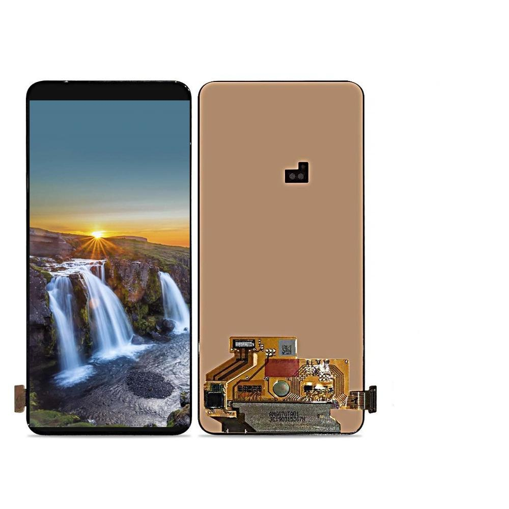 6.7'' Super Amoled With Frame <font><b>LCD</b></font> Display For <font><b>Samsung</b></font> <font><b>Galaxy</b></font> <font><b>A80</b></font> SM-<font><b>A80</b></font> <font><b>LCD</b></font> A805 <font><b>LCD</b></font> Display and Touch Screen Digitizer Assembly image