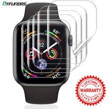 Protetor de tela transparente para apple i assistir série 6 5 4 3 2 1 44mm 40mm 42mm 38mm 38 40 42 44mm proteção da película protetora iwatch