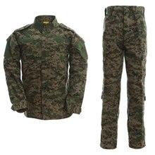 Cargo-Pant Camouflage Multicam Military-Uniform Army-Suit Tactical-Combat-Jacket Training