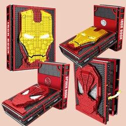 Nieuwe Spiderman Iron Man Cijfers Collecties Boek Fit Legoings Avengers Marvel Bouwstenen Bricks Speelgoed SY1361 SY1461 Geschenken