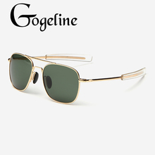 Vintage fashion Polarized Aviation Sunglasses Men luxury Bra