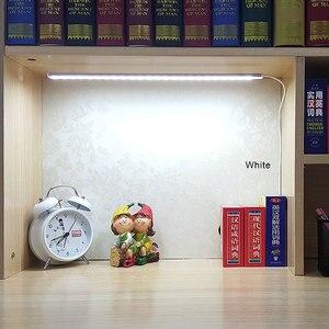 Image 1 - Smd 2835 5v usb led strip bar usb conduziu a lâmpada de mesa luz para cabeceira livro leitura estudo escritório trabalho crianças noite luz