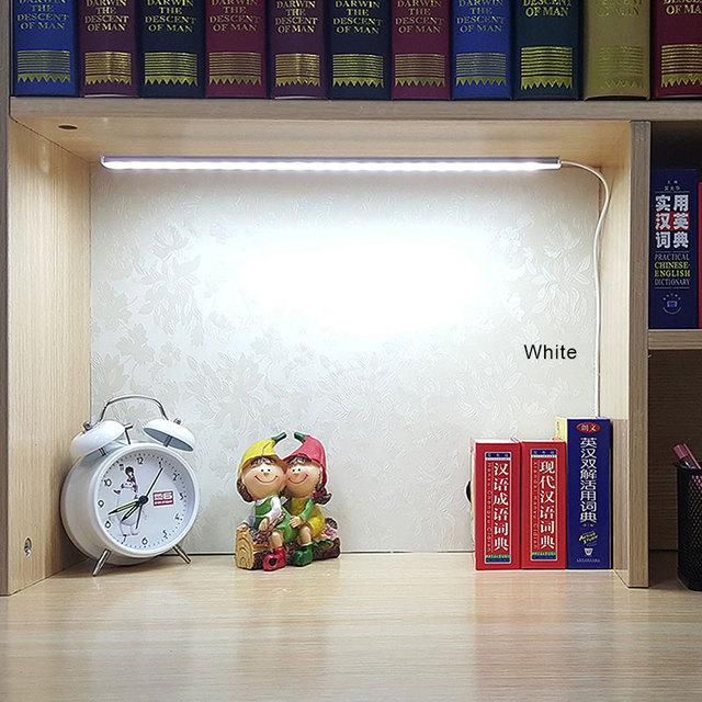 Smd 2835 5v usb led strip bar usb conduziu a lâmpada de mesa luz para cabeceira livro leitura estudo escritório trabalho crianças noite luz