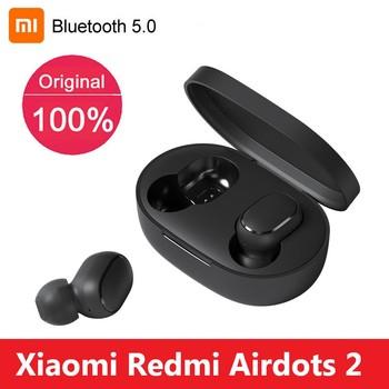 Oryginalny Xiaomi Redmi Airdots 2 TWS prawdziwe bezprzewodowe słuchawki Bluetooth Stereo Bass 5 0 z mikrofonem redukcja szumów zestaw słuchawkowy Air2 SE tanie i dobre opinie douszne Dynamiczny CN (pochodzenie) Prawdziwie bezprzewodowe Do kafejki internetowej Słuchawki do monitora Do gier wideo