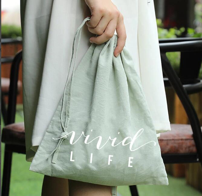 200 Pcs  29.5*32.5cm The Bag Is Green  The Logo Is White