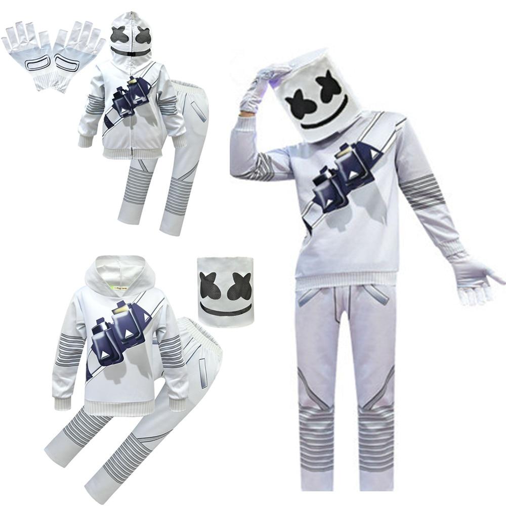 DJ Rock Music Hoodies Kids DJ Sweatshirts Fashion Kids Hooded  Baby Toddler Girls Coat Kids Clothes Boys Casual Tees Sportswear