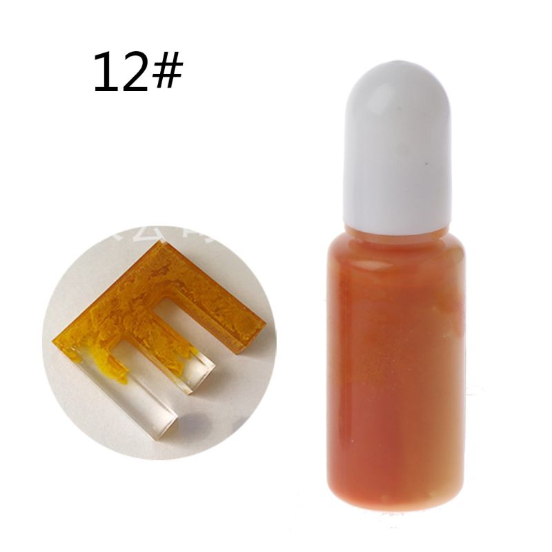 Macaroon Art Ink Natural Pigment Colorant Dye Ink Diffusion Resin Jewelry Making