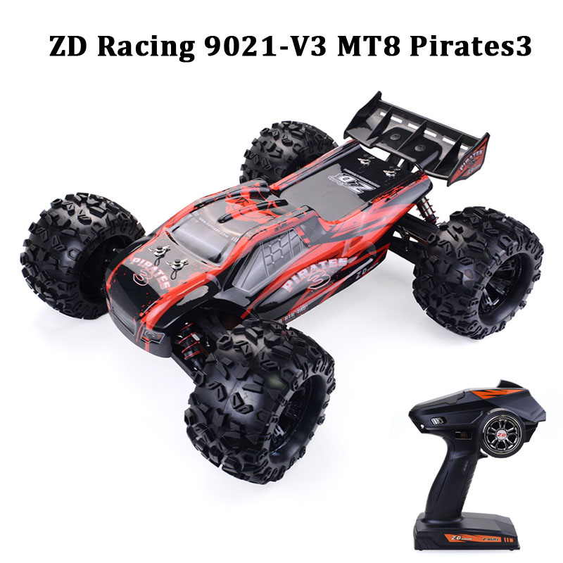 ZD Racing 9021 V3 / MT8 S3 1/8 2.4G 4WD 90km/h Brushless RC Car Electric Truggy Vehicle RTR Model Outdoor Toys Cars