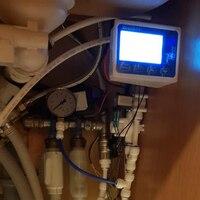 Pure Water Filter Controller Display Zj Lcd F7+Solenoid Valve+Switch+Flow Sensor+Tds