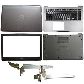 NEW Laptop LCD Back Cover/Front bezel/Hinges/Palmrest/Bottom Case For DELL Inspiron 15 5565 5567 024TTM 0NP37J 0PT1NY 0T7J6N ноутбук dell inspiron 5565 5565 7780