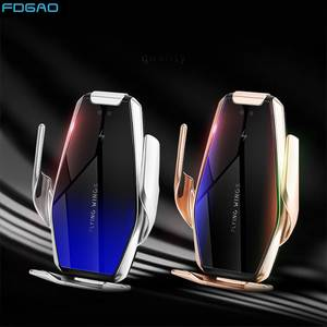 FDGAO Car-Charger 15w Wireless Automatic-Clamp Huawei iPhone 11 for Qi P30 Mate 30-Pro
