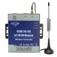 Iot m2m 모뎀 gsm 3g 4g dtu는 프로그래밍 가능한 핸드 셰이크 메시지를 지원합니다. ttl rs485 포트가있는 투명 전송 sms d223