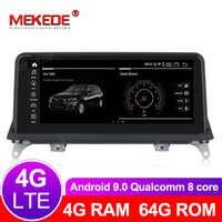 Núcleos 8 64 4G + G android Leitor multimédia 9.0 Carro de Navegação GPS de rádio para BMW X5 E70 X6 CCC ou CIC E71 2007-2013 Originais