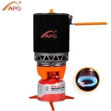 APG 1600ml taşınabilir kamp gaz sobası pişirme sistemi bütan propan brülörleri
