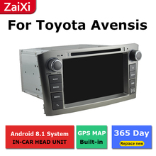 ZaiXi 2Din For Toyota Avensis 2003~2009 Car Android Radio Multimedia Player GPS Navigation IPS Screen HiFi WiFi BT