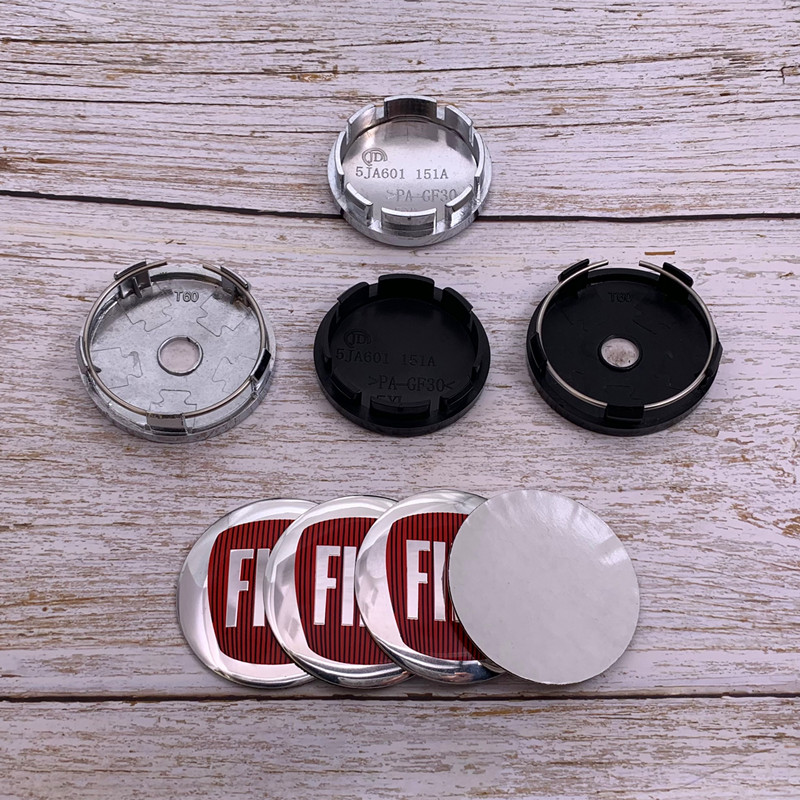 4 шт. 56 мм 60 мм Автомобильный логотип колесная Центральная крышка обода значок пылезащитные Чехлы переводная картинка креативное украшение ...
