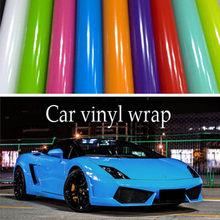 152cm Car Vinyl Wrap Covering Film Sticker Foil Air Bubble Free cricut Wrapping Bike Motorcycle car vinyl wrap stickers film