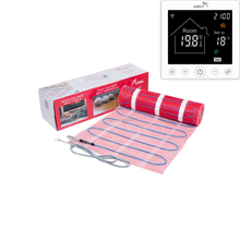 Underfloor Heating System Mat 230V 150W/M2 With Choice Wifi Touch Thermostat