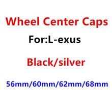 4 pçs 56mm 60mm 62mm 65mm 68mm centro da roda do carro tampa emblema cobre emblema adesivo estilo do carro acessórios